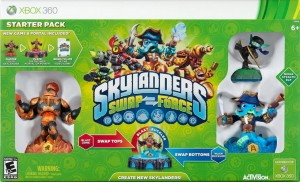 Skylanders Swap Force Box Cover